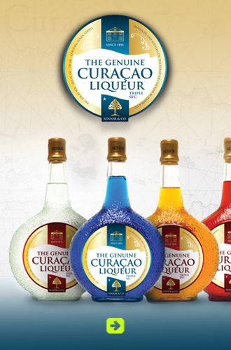 Abled Corporate Supporters link box for the original Curaçao Liqueur. Click here to go to their website.
