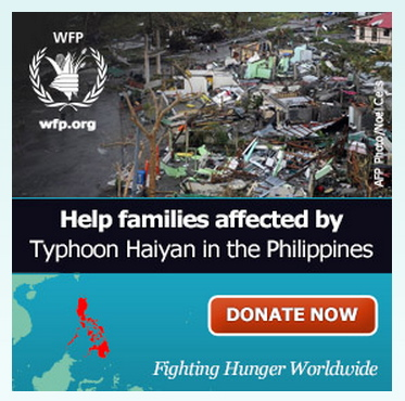 Public Service ad for the UN's World Food Programme. Click here to make a donation to help send food to the victims of Typhoon Haiyan.