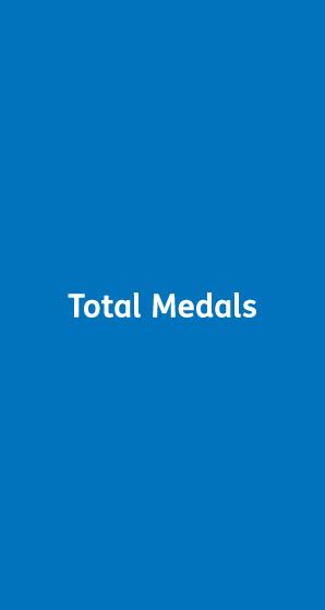 Total Medals Banner