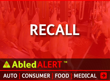 AbledAlert: Recall linkbox. Click here to go to the AbledAlert Recall Main Page.