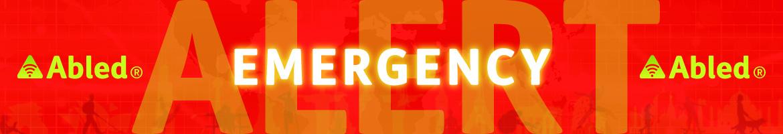 AbledALERT Emergency Banner
