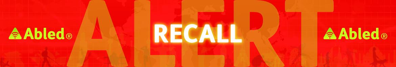 AbledALERT Recall Banner
