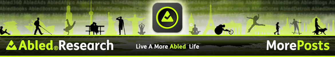AbledResearch More Posts Banner.
