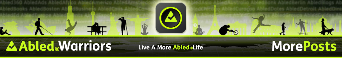 AbledWarriors - More Posts banner