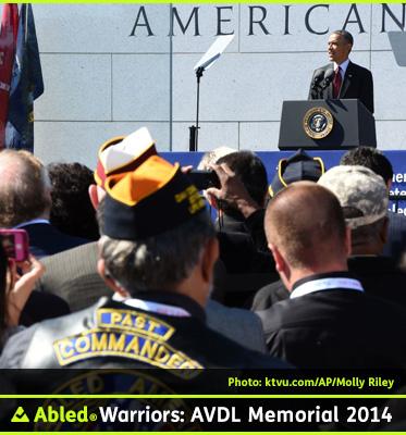 bledWarriors-Photo-President-Obama-Speaks-During-Dedication-of-The-American-Veterans-Disabled-For-Life-Memorial-