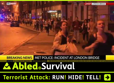 AbledSurvival: Terrorist Attack: Run! Hide! Tell!