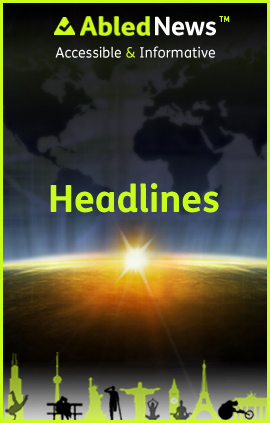 AbledNews Headlines Banner