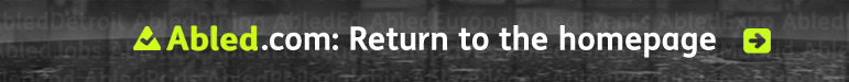 Return to the Abled.com homepage link banner