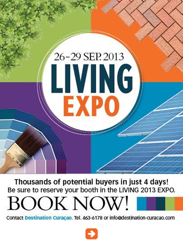 AbledSupporters ad for the Living Expo trade show put on by Destination Curacao at the World Trade Center on the Caribbean island of Curaçao from the 26th to the 29th of September. Click here for more information