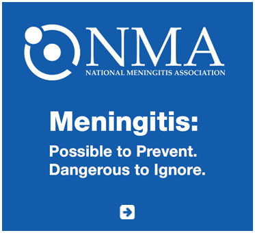 Abled Public Service Ad for The National Meningitis Association in the United States. Their slogan reads Meningitis: Possible to Prevent. Dangerous To Ignore. Click here to go to their website.