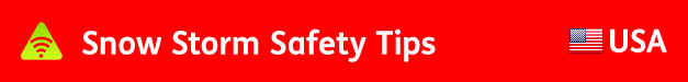 AbledALERT Banner SNow Storm Safety Tips USA