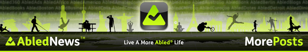 AbledNews - More Posts banner.