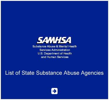 Abled Public Service Ad for The Substance Abuse and Mental health Services Administration of the U.S. Department of Health and Human Services. Click here to go to their list of State Substance Abuse Agencies.