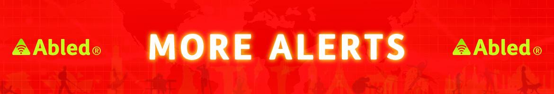 AbledALERT More Alerts Banner