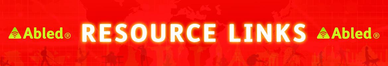 AbledALERT Resource Links Banner