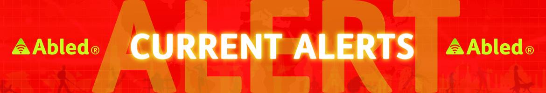 AbledALERT-Current ALERTS Banner