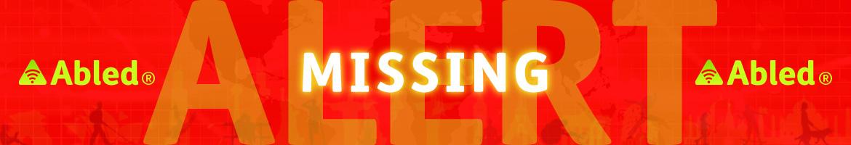 AbledALERT Missing Banner