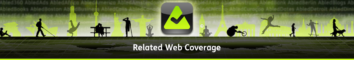 AbledNews related Web Coverage Banner