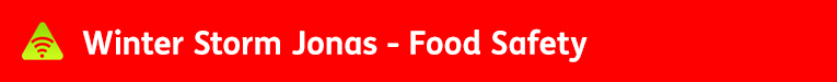 AbledALERT-Winter Storm Jonas-Food Safety banner