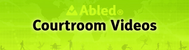 Abled Courtroom Videos banner