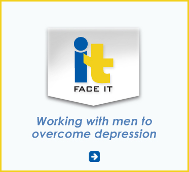 Abled Public Service Ad for Face It Foundation - Working with men to overcome depression in the USA. Click here to go to their website.