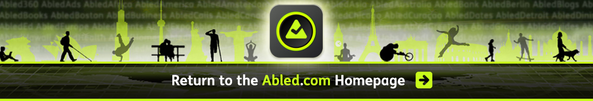Return to the Abled.com Homepage banner. Click here.