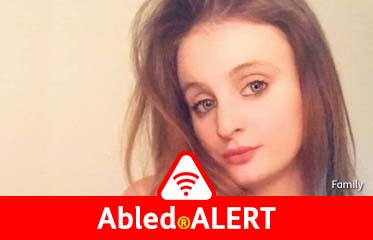 Abled.ALERT: Family photo of 21 year-old Chloe Middleton.