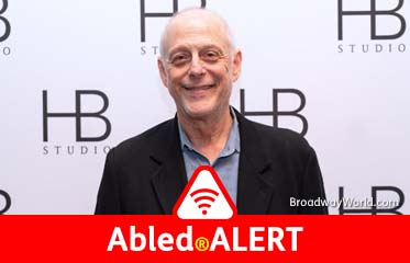 Abled.ALERT: Photo of actor Mark Blum at an HB Studio gala in New York in 2019.