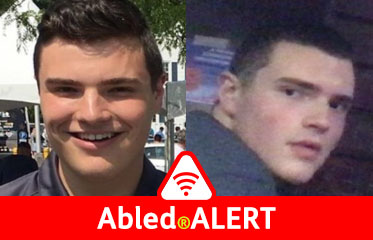 Abled.ALERT: Two photos of murder suspect Peter Manfredonia.