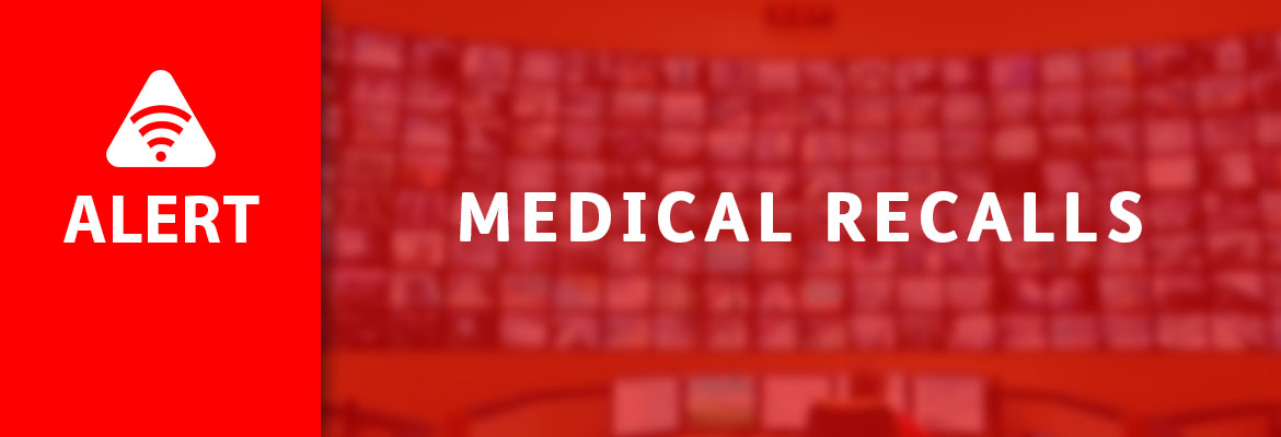 Abled.ALERT: Recalls. Medical Recalls banner.