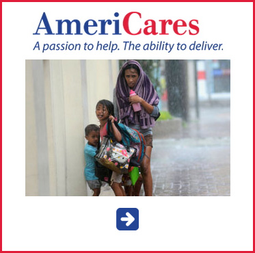 Abled Public Service Ad for AmeriCares Typhoon Relief. Click here to make a donation.