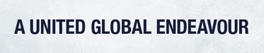 Banner reads: A United Global Endeavour