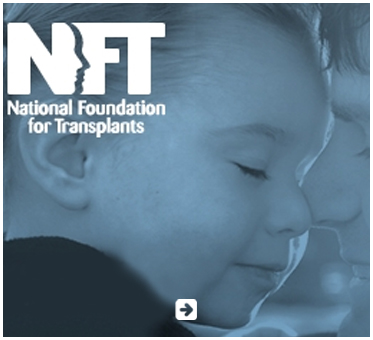 Abled Public Service Ad for the National Foundation For Transplants shows a young girl snuggling face to face with her father. Click here to go to their website.