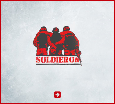 Abled Public Service Ad for Soldier On an Australian charity helping wounded warriors. Their logo depicts two servicemen seen from behind helping a wounded comrade who has his arms around the back of their shoulders. Click here to go to their website.